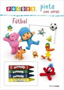 Juegos de ingenio para niños | Pocoyó pinta con ceras. Fútbol