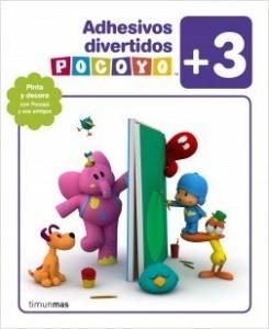 Juegos de ingenio para niños | Pocoyó. Adhesivos divertidos. +3