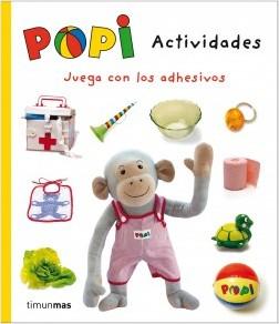 Juegos de ingenio para niños | Popi. Actividades. Juega con los adhesivos