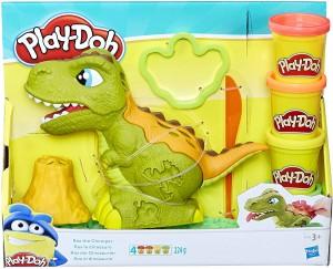 Manualidades con plastilina para niños | Rex el Dinosaurio de Play-Doh