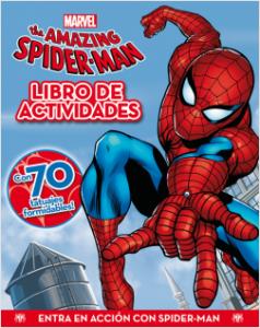 Juegos de ingenio para niños | Spider-man. Actividades con tatuajes