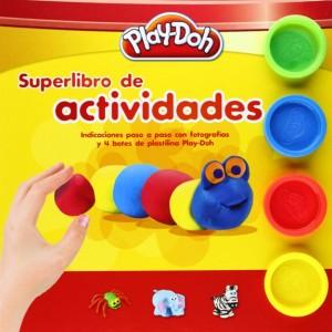 Manualidades con plastilina para niños | Superlibro de actividades Play-Doh