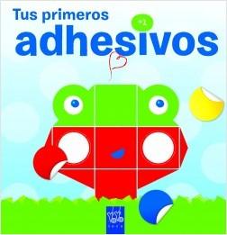 Juegos de ingenio para niños | Tus primeros adhesivos +2. Rana