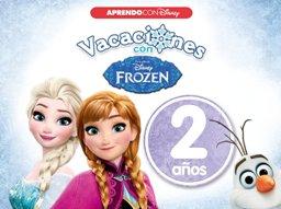 Juegos de ingenio para niños | Vacaciones con Frozen. 2 años (Aprendo con Disney)