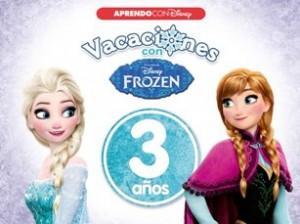 Juegos de ingenio para niños | Vacaciones con Frozen. 3 años (Aprendo con Disney)
