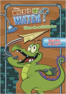 Juegos de ingenio para niños | Where's my water. Tuberías de juegos. Libro de actividades
