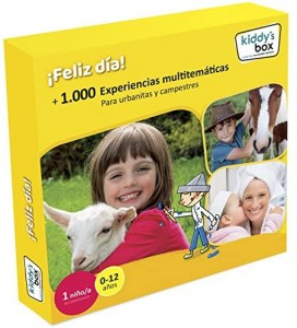 Ideas de regalos originales para niños | Caja regalo ¡Feliz día!