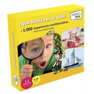 Ideas de regalos originales para niños | Caja regalo ¡Qué bonita es la vida!