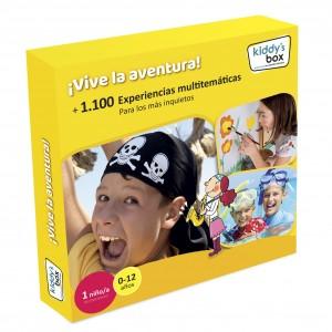 Ideas de regalos originales para niños | Caja regalo ¡Vive la aventura!