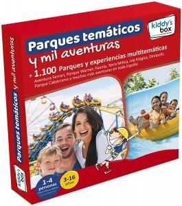 Ideas de regalos originales para niños | Caja regalo Parques temáticos y mil aventuras