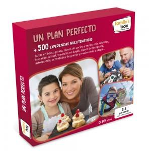 Ideas de regalos originales para niños | Caja regalo Un plan perfecto. + De 500 experiencias multitemáticas
