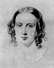 Catherine Hogarth, por Samuel Lawrence en 1838.