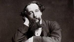 El escritor inglés Charles Dickens.