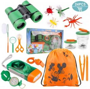 Ideas de regalos originales para niños | Kit de juguetes de exploración de 24 piezas