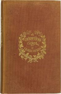 Cuento de Navidad de Charles Dickens | Portada de la primera edición (1843)