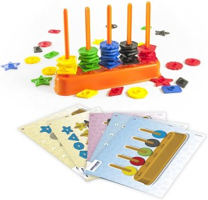 Juegos para aprender matemáticas   Ábaco formas y colores   De 3 a 6 años