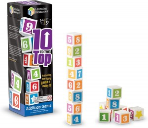Juegos para aprender matemáticas   10 to the Top   +5 años