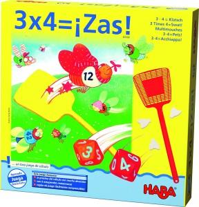 Juegos para aprender matemáticas   3 x 4 = ¡Zas!   +8 años