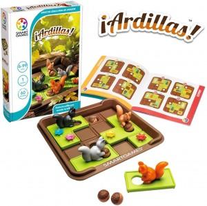 Juegos para aprender matemáticas   Ardillas   +6 años