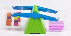 Juegos para aprender matemáticas   Balanza con cubos de 1 litro   +7 años