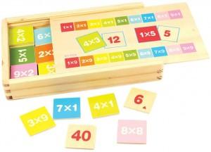 Juegos para aprender matemáticas   Caja de tablas de multiplicar   +6 años