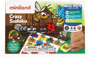 Juegos para aprender matemáticas   Crazy Sudoku   De 4 a 8 años