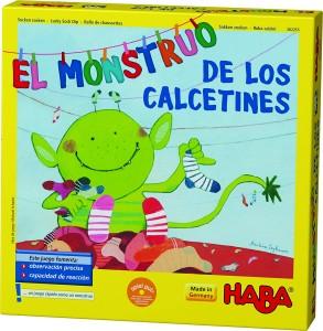 Juegos para aprender matemáticas   El Monstruo de los calcetines   +4 años