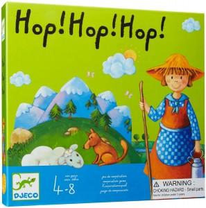 Juegos para aprender matemáticas   Hop! Hop! Hop!   De 4 a 8 años