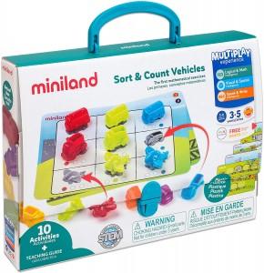 Juegos para aprender matemáticas   Juego para clasificar y contar vehículos   De 3 a 5 años