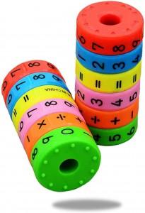 Juegos para aprender matemáticas   Juguete magnético para aprendizaje   +5 años