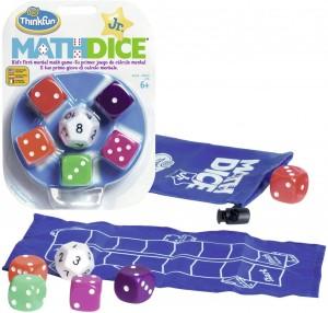 Juegos para aprender matemáticas   Math Dice Jr.   +6 años