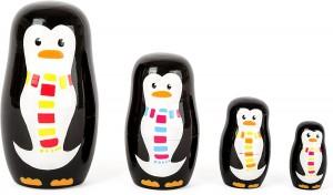Juegos para aprender matemáticas   Matrioska familia de pingüinos   +3 años