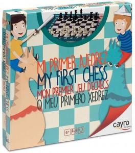 Juegos para aprender matemáticas   Mi primer ajedrez   +6 años