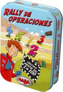 Juegos para aprender matemáticas   Rally de operaciones   +6 años