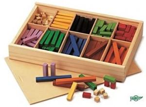 Juegos para aprender matemáticas   Regletas numéricas Cuisenaire   +5 años