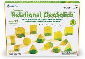 Juegos para aprender matemáticas   Relational GeoSolids   +8 años