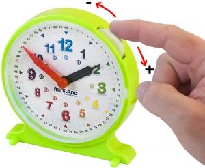 Juegos para aprender matemáticas   Reloj con fichas de actividades   De 3 a 6 años