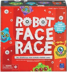 Juegos para aprender matemáticas   Robot Face Race   +4 años