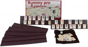 Juegos para aprender matemáticas   Rummi 6 jugadores   +8 años
