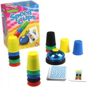 Juegos para aprender matemáticas   Speed cups   +6 años