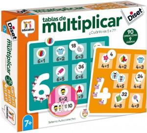 Juegos para aprender matemáticas   Tablas de multiplicar   +7 años