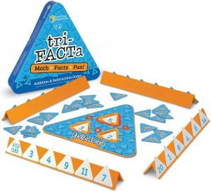 Juegos para aprender matemáticas   Tri-FACTa. Juego de sumas y restas   +6 años