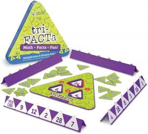 Juegos para aprender matemáticas   Tri-FACTa. Juego de multiplicaciones y divisiones   +8 años