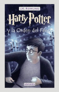 Todos los libros de Harry Potter | Harry Potter 5 | Harry Potter y la Orden del Fénix