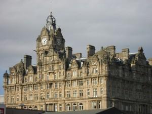 Vista del Hotel Balmoral