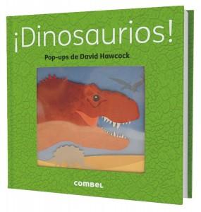 Libros de dinosaurios para niños y adultos | ¡Dinosaurios! (libro pop-up) | +3 años | 16 páginas