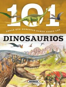 Libros de dinosaurios para niños y adultos | 101 cosas que deberías saber sobre los dinosaurios | +7 años | 48 páginas