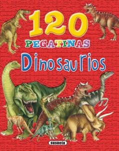 Libros de dinosaurios para niños y adultos | 120 pegatinas de dinosaurios | +4 años | 96 páginas
