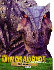 Libros de dinosaurios para niños y adultos | Alosaurio | +4 años | 12 páginas