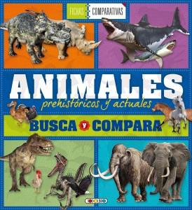 Libros de dinosaurios para niños y adultos | Animales prehistóricos y actuales. Busca y compara | +7 años | 128 páginas